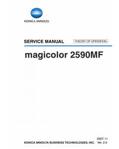 Konica-Minolta magicolor 2590MF THEORY-OPERATION Service Manual