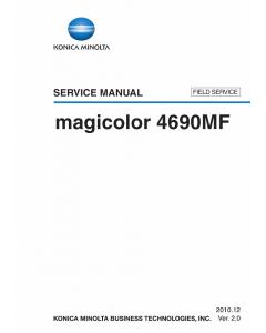 Konica-Minolta magicolor 4690MF FIELD-SERVICE Service Manual