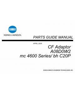 Konica-Minolta magicolor 4690 C20P CF-Adaptor A08D0W2 Parts Manual