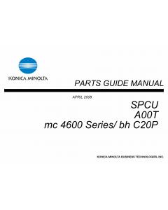 Konica-Minolta magicolor 4690 C20P SPCU A00T Parts Manual