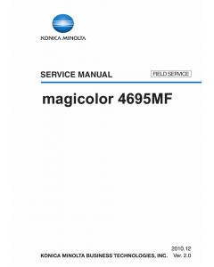 Konica-Minolta magicolor 4695MF FIELD-SERVICE Service Manual