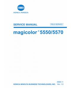 Konica-Minolta magicolor 5550 5570 FIELD-SERVICE Service Manual