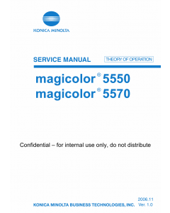 Konica-Minolta magicolor 5550 5570 THEORY-OPERATION Service Manual