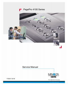 Konica-Minolta pagepro 4100 Parts Manual