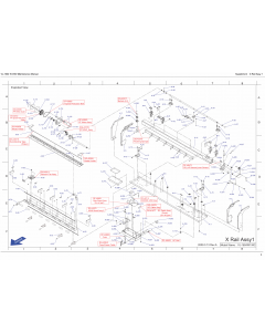 MUTOH ValueJet VJ 1604W W1 W2 Parts Manual