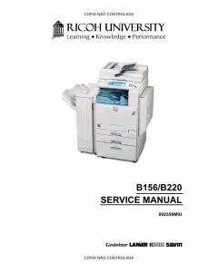 RICOH Aficio 3224C 3232C B156 B220 Service Manual
