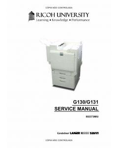 RICOH Aficio CL-7200 7300 G130 G131 Service Manual