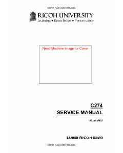 RICOH Aficio DX-2330 2430 C274 Service Manual