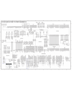 RICOH Aficio MP-6002 7502 9002 D131 D132 D133 Circuit Diagram