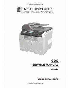 RICOH Aficio SF-3200SF G960 Service Manual