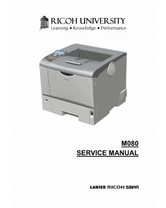 RICOH Aficio SP-4310N M080 Service Manual