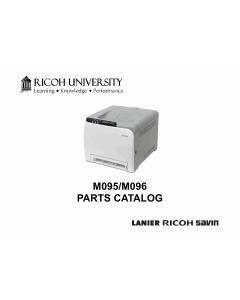 RICOH Aficio SP-C240DN C242DB C240SF C242SF M095 M096 M099 M100 Parts Catalog