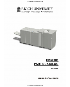RICOH Options BK5010 Parts Catalog PDF download