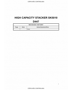 RICOH Options D447 HIGH-CAPACITY-STACKER Parts Catalog PDF download