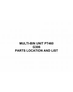 RICOH Options G306 MULTI-BIN-UNIT-PT460 Parts Catalog PDF download