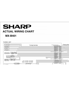 SHARP MX B401P Wiring Chart Diagrams