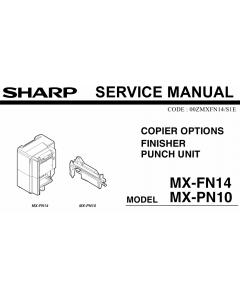 SHARP MX FN14 PN10 Service Manual