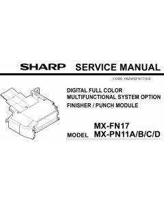 SHARP MX FN17 PN11 Service Manual