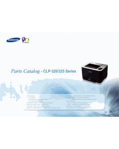 Samsung Color-Laser-Printer CLP-320 325 Parts Manual