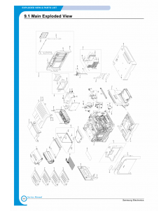 Samsung Color-Laser-Printer CLP-500 Parts Manual
