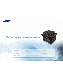 Samsung Digital-Laser-MFP SCX-4600 4623 Parts Manual