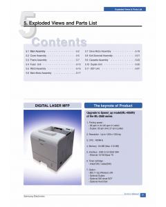Samsung Laser-Printer ML-4050N Parts Manual
