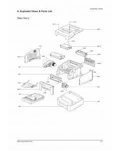 Samsung Laser-Printer ML-7050 Parts Manual