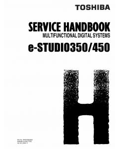TOSHIBA e-STUDIO 350 450 Service Handbook