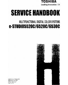 TOSHIBA e-STUDIO 5520C 6520C 6530C Service Handbook