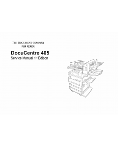 Xerox DocuCentre 405 Parts List and Service Manual
