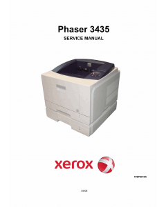Xerox Phaser 3435 Parts List and Service Manual