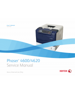 Xerox Phaser 4600 4620 Parts List and Service Manual