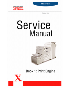 Xerox Phaser 5500 Parts List and Service Manual