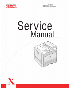 Xerox Phaser 6100 Parts List and Service Manual