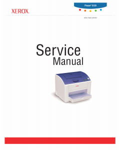 Xerox Phaser 6120 Parts List and Service Manual