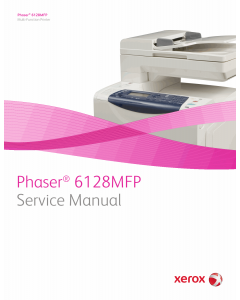 Xerox Phaser 6128-MFP Parts List and Service Manual