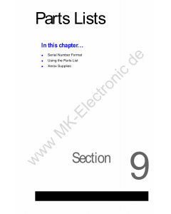 Xerox WorkCentre C2424 Parts List Manual