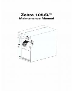 Zebra Label 105SL Maintenance Service Manual