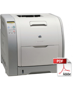 HP Color LaserJet 3500 3550 3700 Service Manual - Repair Printer