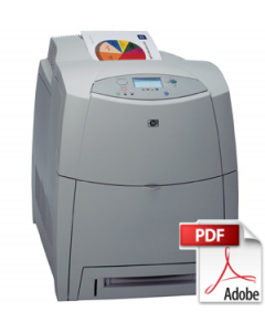 HP Color LaserJet 4600 Service Manual - Repair Printer