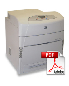 HP Color LaserJet 5500 5550 Service Manual - Repair Printer