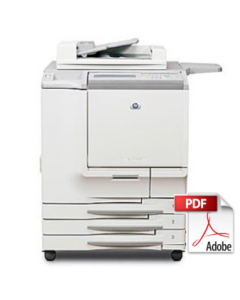 HP Color LaserJet 9850 MFP Service Manual - Repair Printer