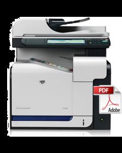 HP Color LaserJet CM3530 MFP Service Manual - Repair Printer