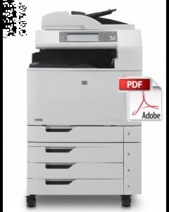 HP Color LaserJet CM6030 CM6040 CM6030f CM6040f MFP Service Manual - Repair Printer