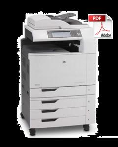 HP Color LaserJet CM6049f MFP Service Manual - Repair Printer