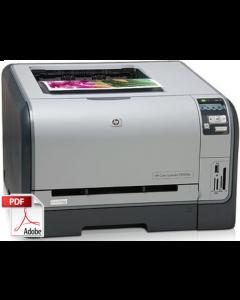 HP Color LaserJet CP1210 CP1215 CP1510 CP1515 Service Manual - Repair Printer