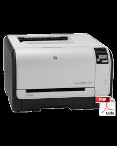 HP Color LaserJet CP1525 CP1520 Service Manual - Repair Printer