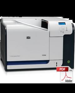 HP Color LaserJet CP3525 Service Manual - Repair Printer