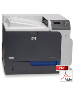 HP Color LaserJet CP4020 CP4520 Service Manual - Repair Printer