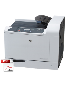 HP Color LaserJet CP6015 Service Manual - Repair Printer